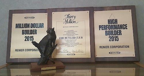 Renier Construction Butler Award